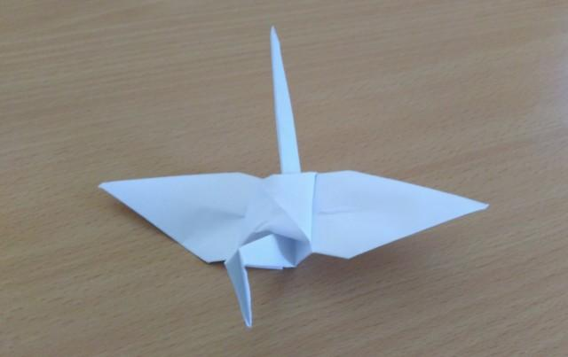 Origami Wedding Crane Paper Set Of 1000 White Decoration 2598047