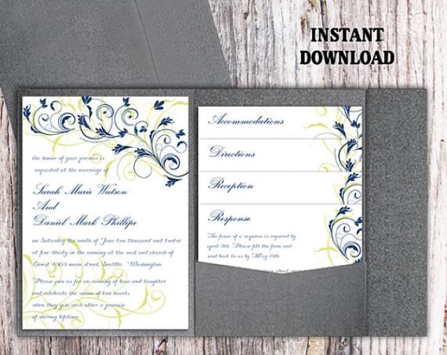 Wedding Invite Template 59 Nice Pocket Wedding Invitation Template