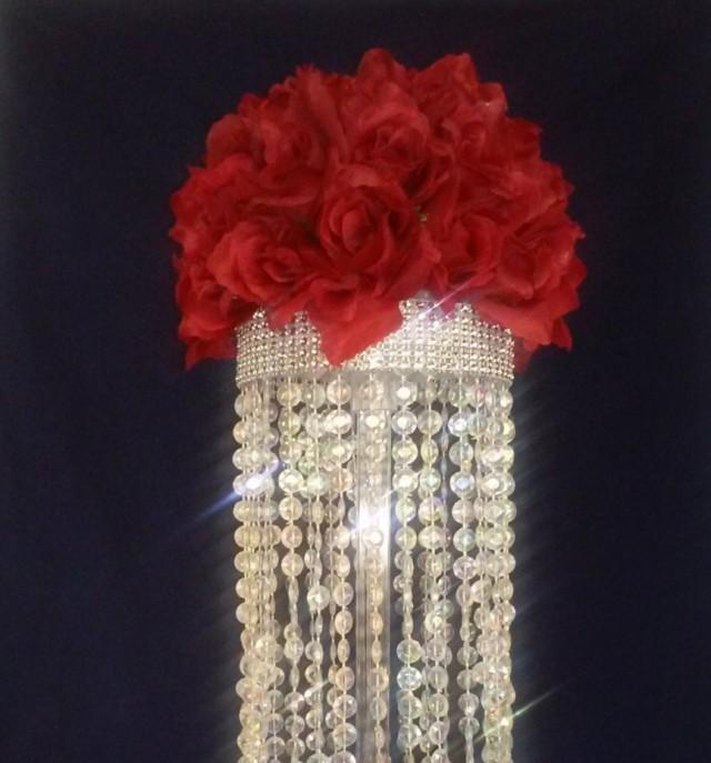 Crystal Chandelier Table Centerpiece Limited Time Only Wedding Fl Candles Party Favor Centerpieces Affordable 2599723