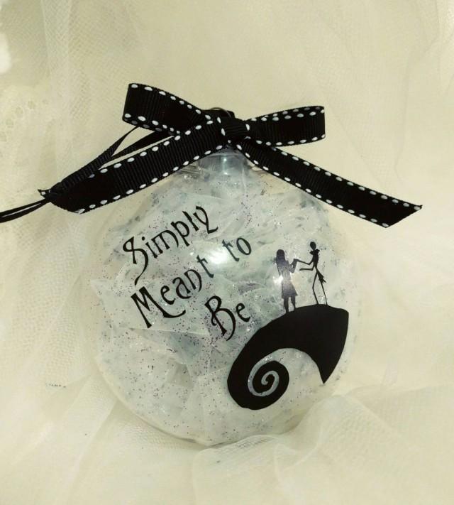 Tim Burtons Nightmare Before Christmas Inspired Ornament W