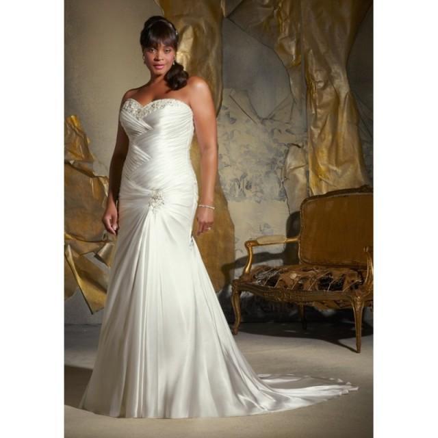 Unique Plus Size Wedding Dresses: Mori Lee Julietta 3134 Plus Size Wedding Dress