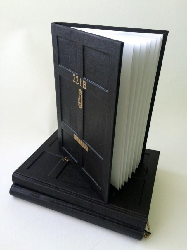 Personalized Notebook Sherlock Holmes Bbc Door Baker Street 221b