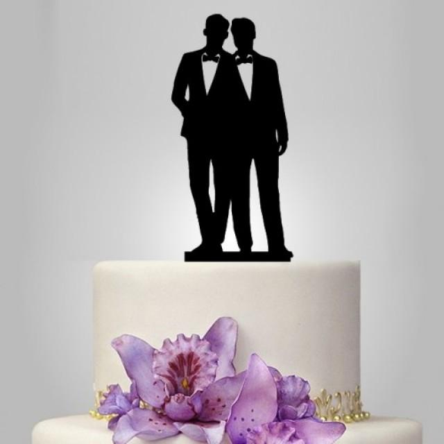 Gay Wedding Cake Topper With Samesex Wedding Cake Topper Unique