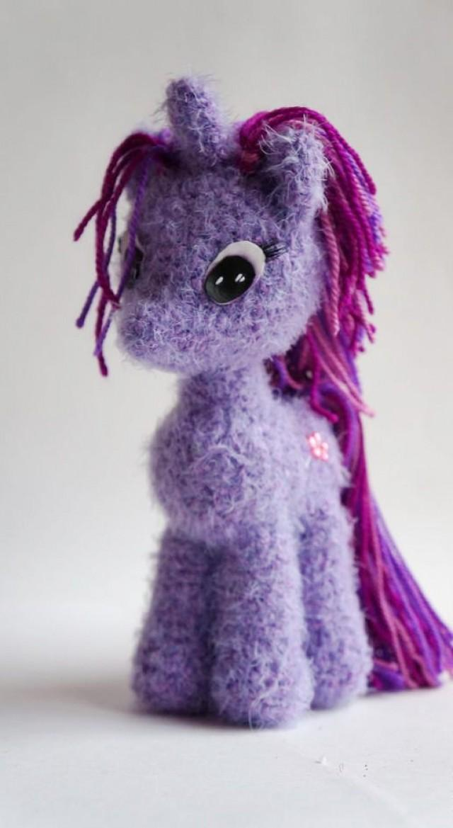 Plush Unicorn Toy Crochet Unicorn Doll Unicorn Toy Stuffed