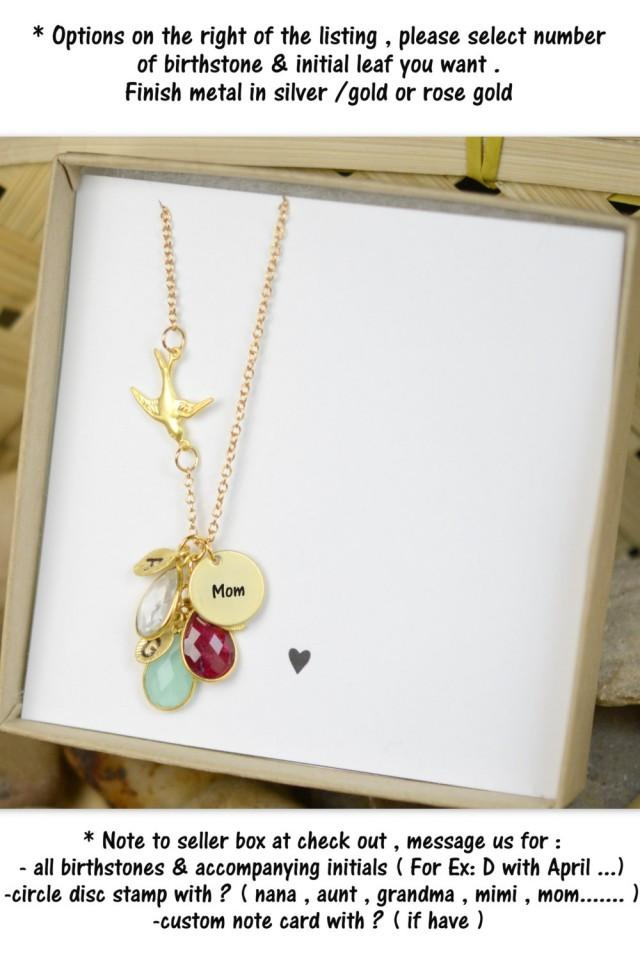 Mother In Law Gift Of The Bride Groom Wedding Necklacemother Birthday Personalized Necklace 2606651