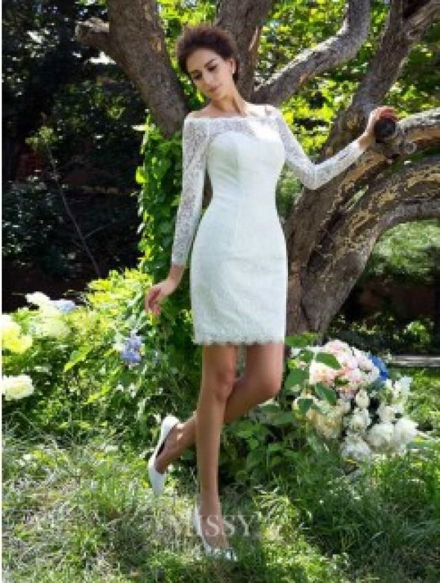 Korte Trouwjurken Korte Bruidsjurken Outlet Online