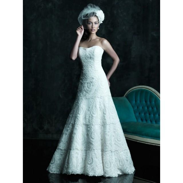 Allure Couture C243 Lace A-Line Wedding Dress - Crazy Sale Bridal ...