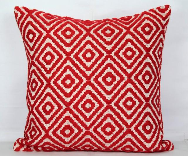 Red Throw Pillow Covers 24x24 Christmas Pillow Cover 20x20