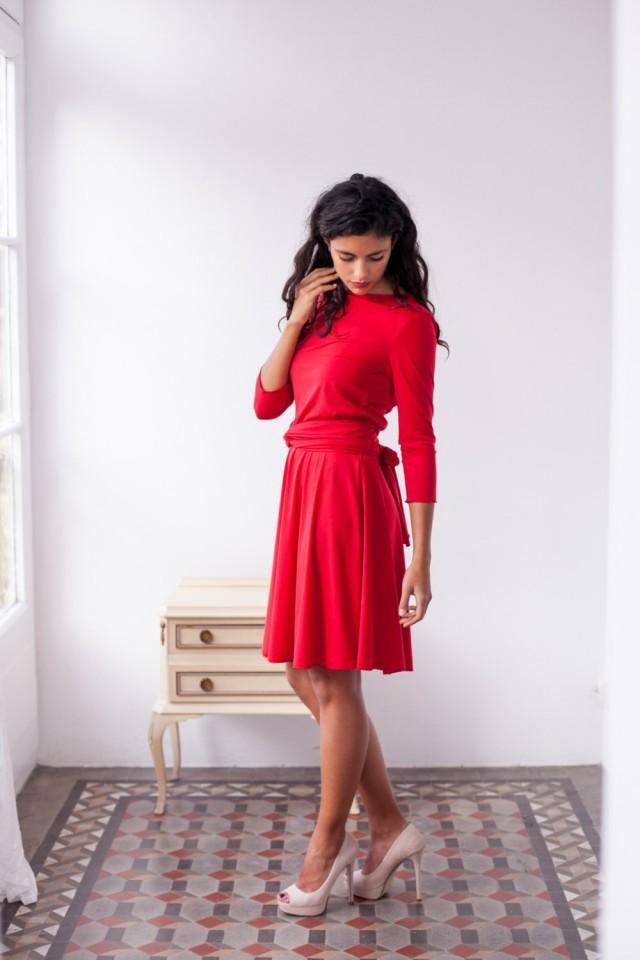 6111d9f9a005 Short Red Dress
