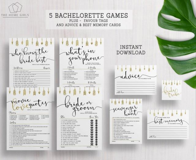 Bride Tribe Games Bachelorette Hens Party Games Bridal