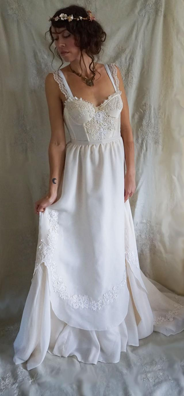 Cyber monday sale elodie wedding gown wedding dress for Bohemian style wedding dresses for sale