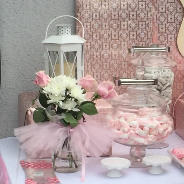 Mason jar candy dish tutu ballerina party decoration