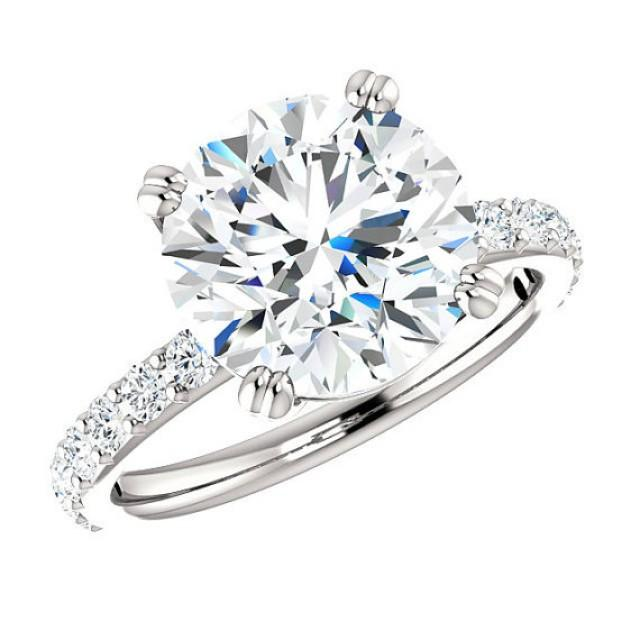 moissanite rings los angeles san diego vegas jewelry