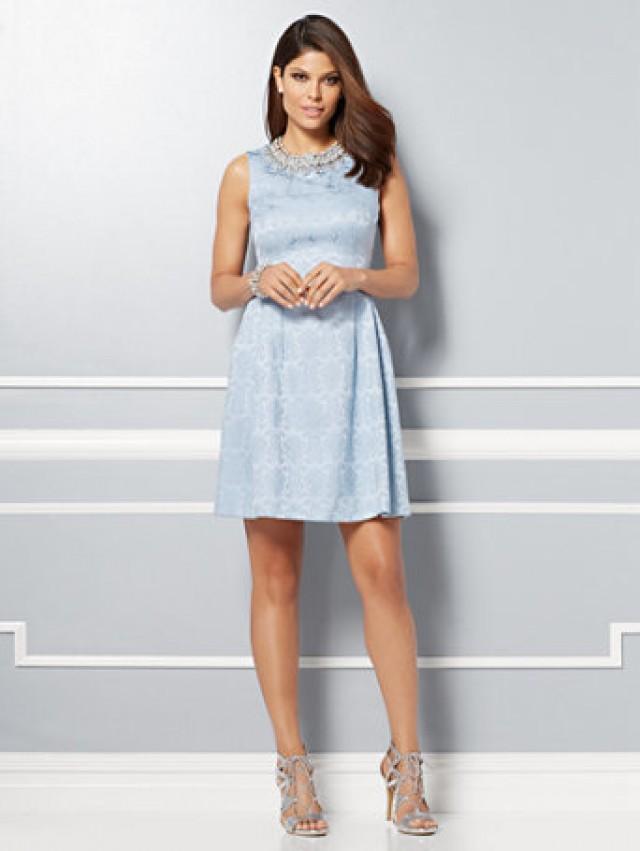 e413f3f53 Eva Mendes Collection - Maria Jacquard Dress  2620323 - Weddbook