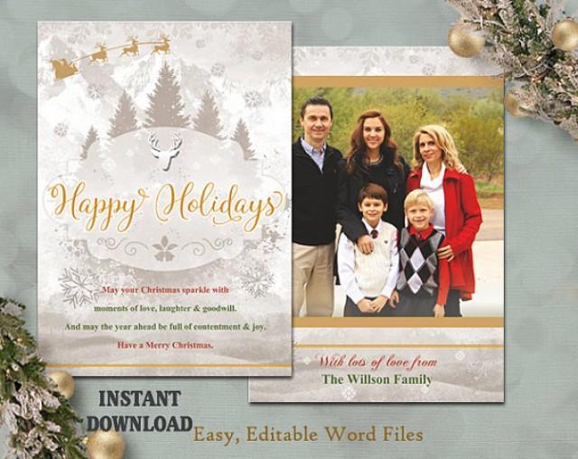 christmas card template holiday greeting card christmas tree
