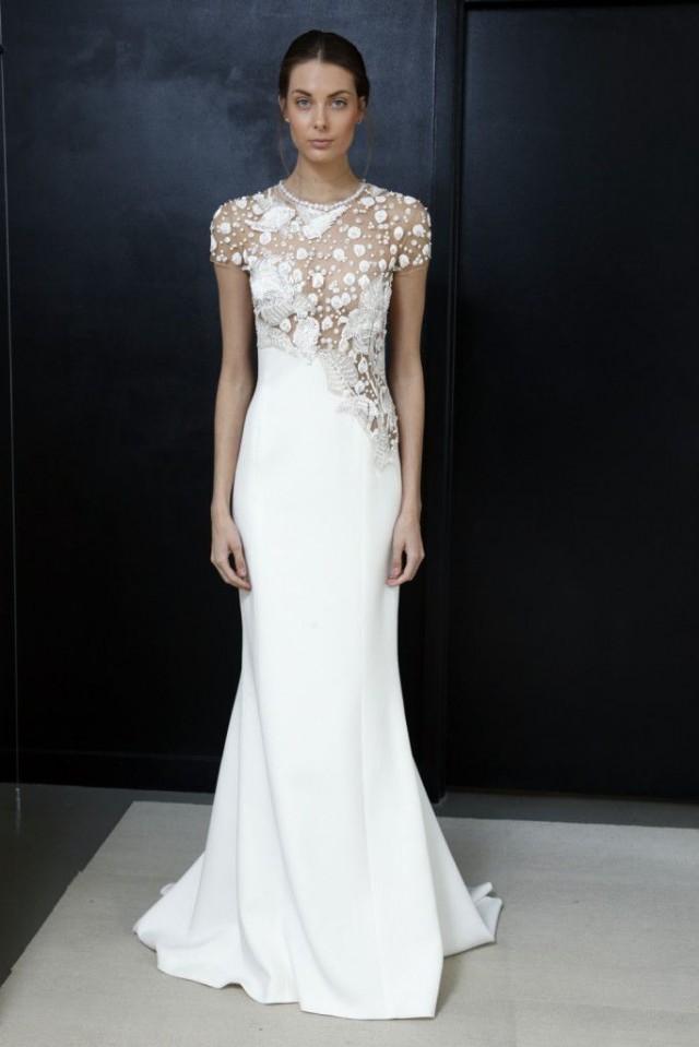 50 Breathtaking Wedding Gowns At Bridal Fashion Week #2622964 - Weddbook