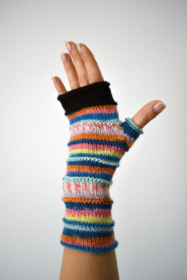 Soft Fingerless Gloves - Christmas Gift