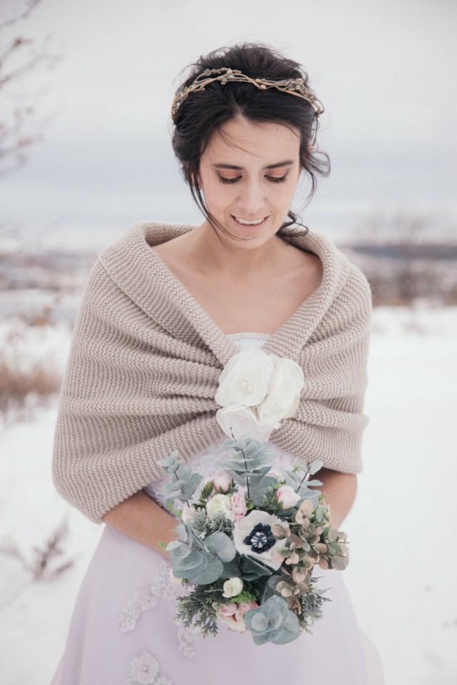 Winter Wedding Wedding Shawl Bridal Shawl Wedding
