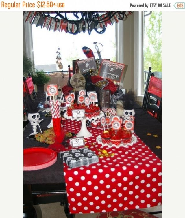 On sale today polka dot linens red and white table runners for Red and white polka dot decorations