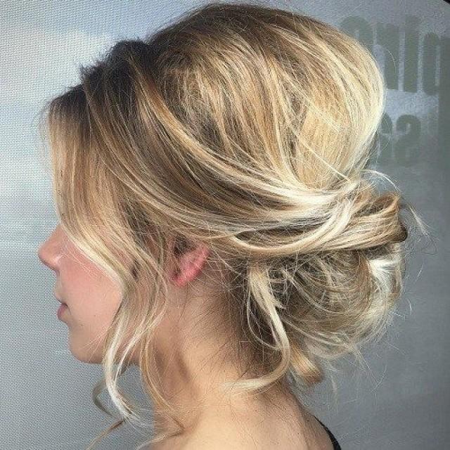 54 Trendiest Updos For Medium Length Hair 2640143 Weddbook