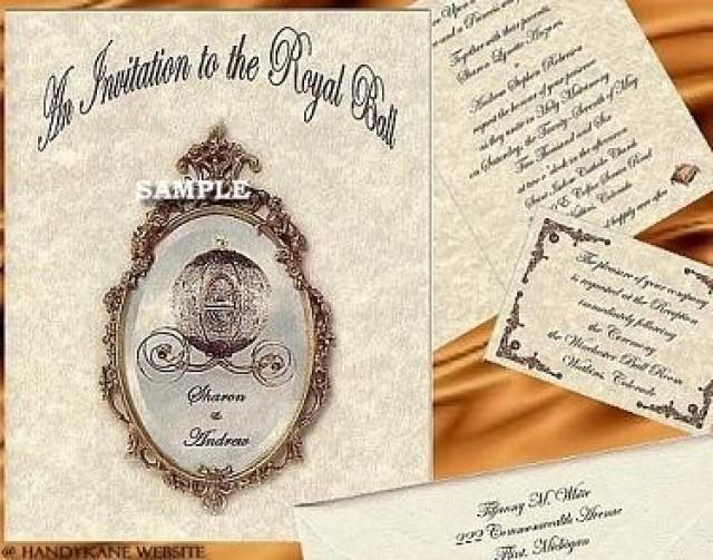 Regal Cinderella Fairy Tale Favors