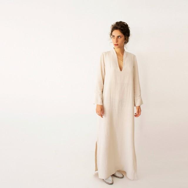 Kaftan Dress Bohemian Wedding Dress Wedding Kaftan Plus Size