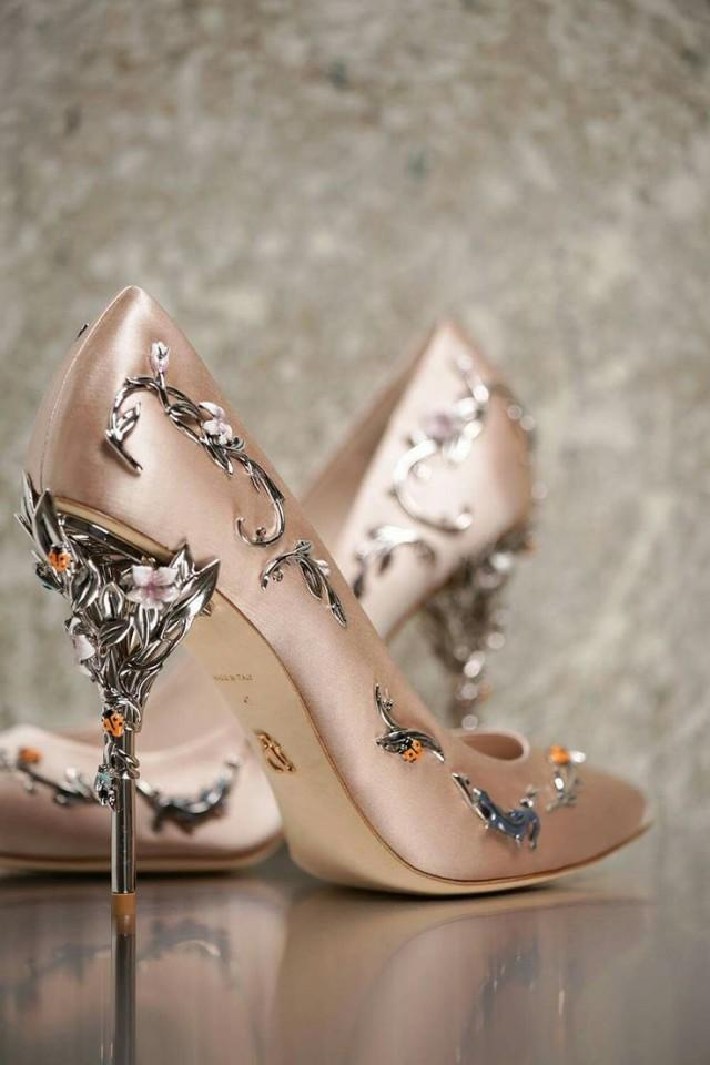Rose gold wedding shoes  Etsy