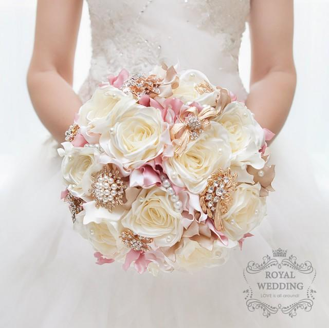 Bridal Bouquet Vintage Wedding Brooch Bouquet Wedding