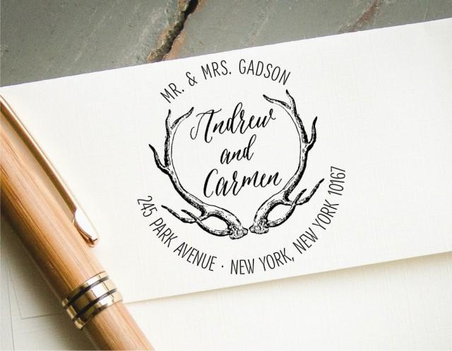 Stamp Save The Date Wedding