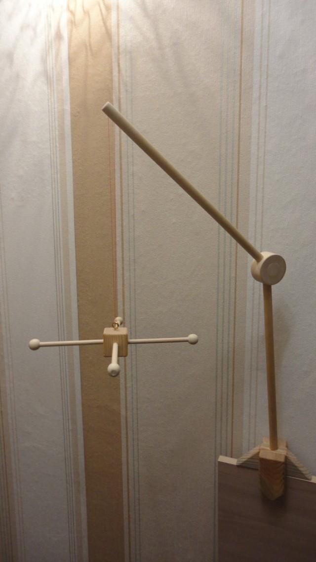 Wooden Stand Arm Diy Wooden Mobile Stand Baby сrib Mobile Holder