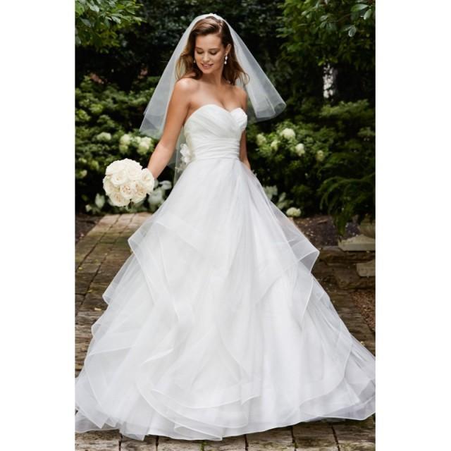 Watters Wedding Dresses: Wtoo By Watters Selena 14430 Ruffle A-Line Wedding Dress