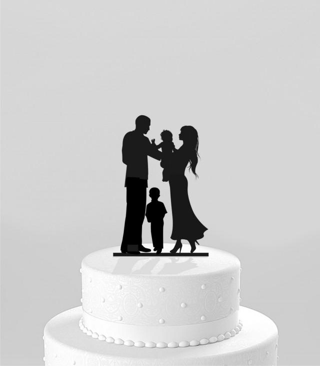 Bride And Groom Only Wedding Ideas: Ships NEXT Day! Wedding Cake Topper Silhouette Bride