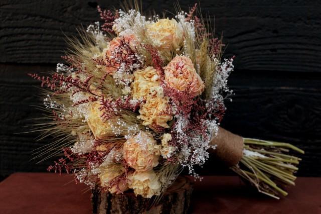 Romantic Rustic Wedding Bouquet Large Bridal Bouquet Farmhouse