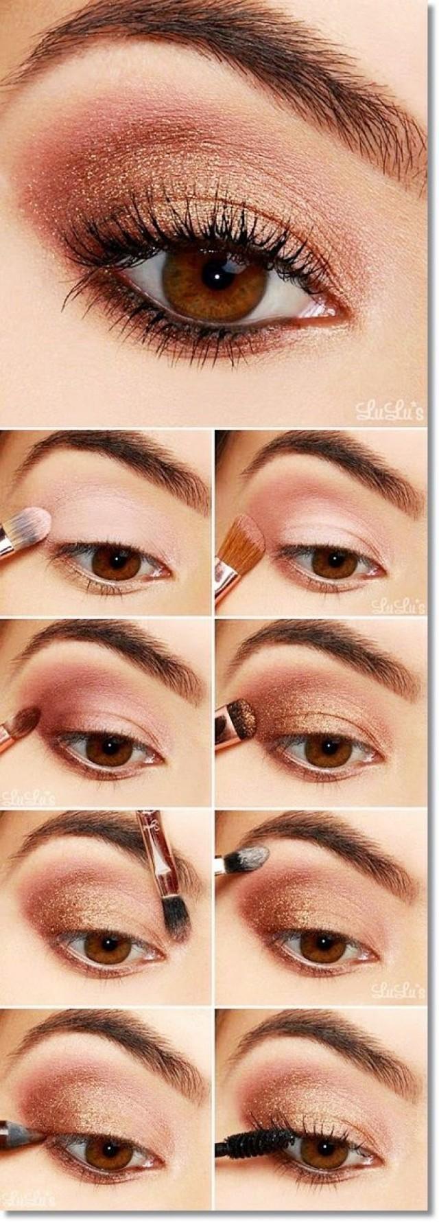 Как красиво сделать повседневный макияж