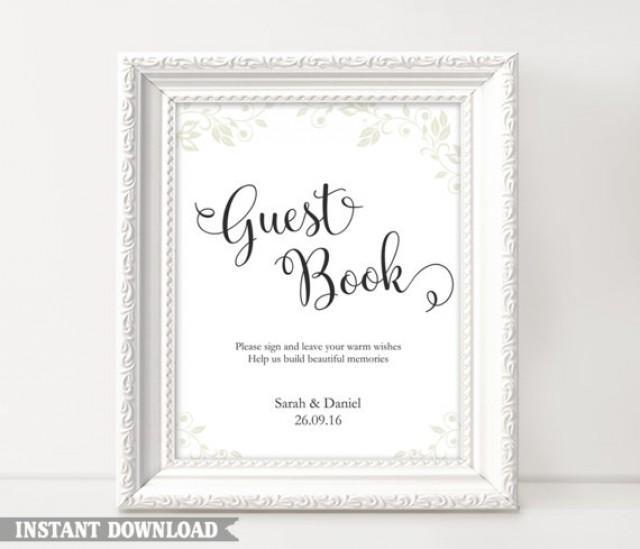 guest book sign  wedding guest book sign  printable guest book sign  wedding signs  guestbook