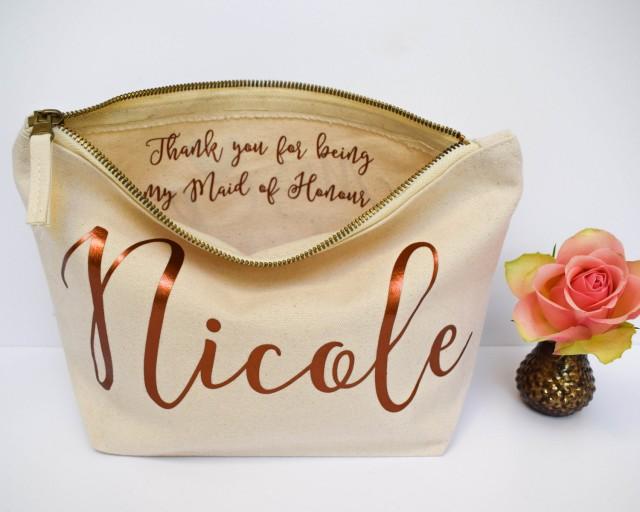 Wedding Thank You Gift: Personalised Bridesmaid Gift Make