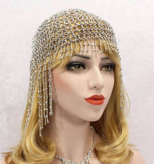 Great Gatsby Headpiece Roaring 20s Great Gatsby Headband