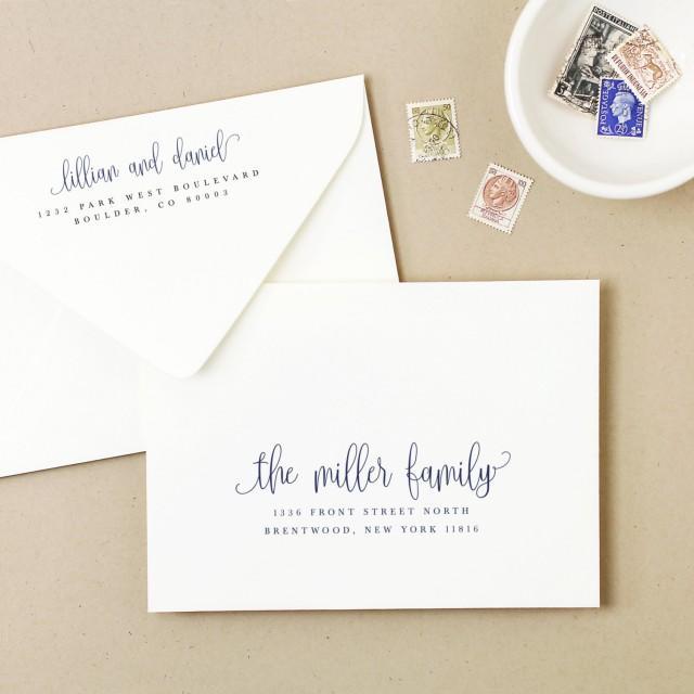 Invitation Printable Envelope Template 2667892 Weddbook