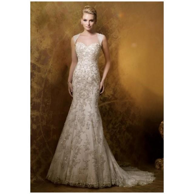 The Knot Wedding Gowns: James Clifford Collection J11578 Wedding Dress