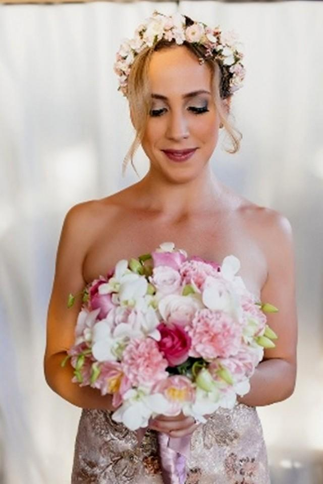 Floral Crown Bridal Hair Wreath