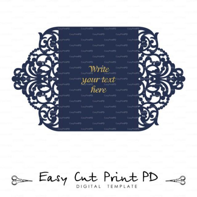 Wedding Invitation Stationery Pattern Card Templates