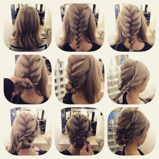 простые прически на длинные волосы видео уроки