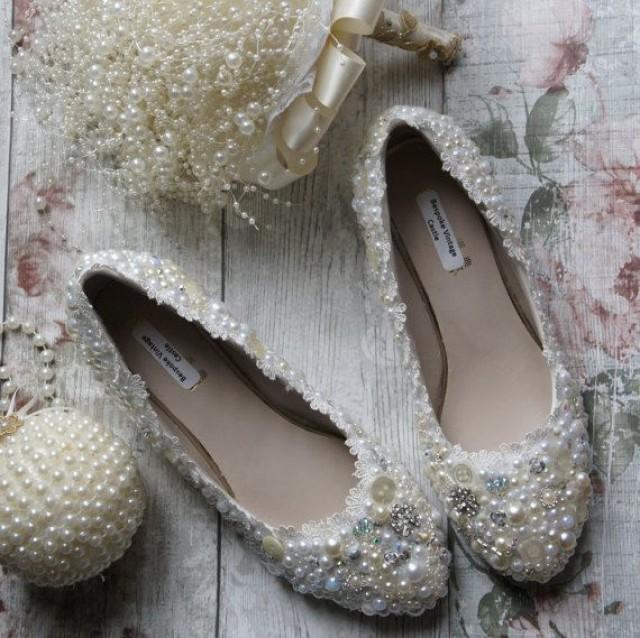 Wedding Bride Schuhes, Pearl Schuhes,bridal Schuhes, The Bride,wedding, Bride Wedding ... b99c51