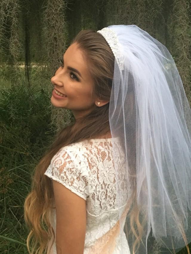 Tiara Veil Bachelorette Party Bride Gift Silver Gold 2685057 Weddbook