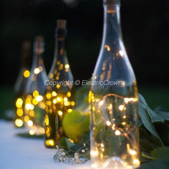 Liquor Bottle Centerpieces: DIY Wedding Lantern, Wedding Centerpiece, Wine Bottle
