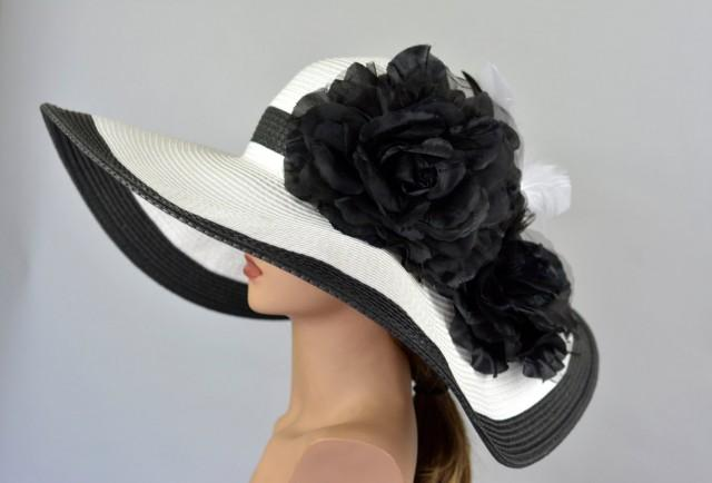 028cc079 Woman Strips Hat Church Wedding Hat Head Piece Kentucky Derby Hat Bridal  Coctail Hat Couture Fascinator Bridal Hat #2695252 - Weddbook