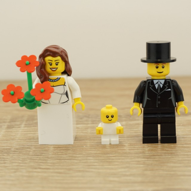 Lego Bride And Groom Lego Cake Topper Lego Cake Toppers