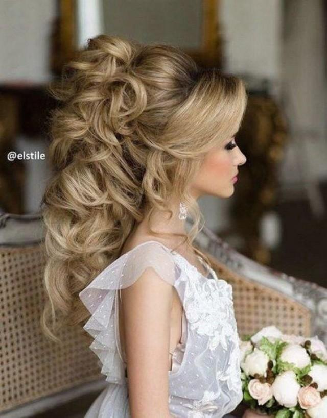 27 Gorgeous Wedding Hairstyles For Long Hair In 2019: 45 Most Romantic Wedding Hairstyles For Long Hair #2701141