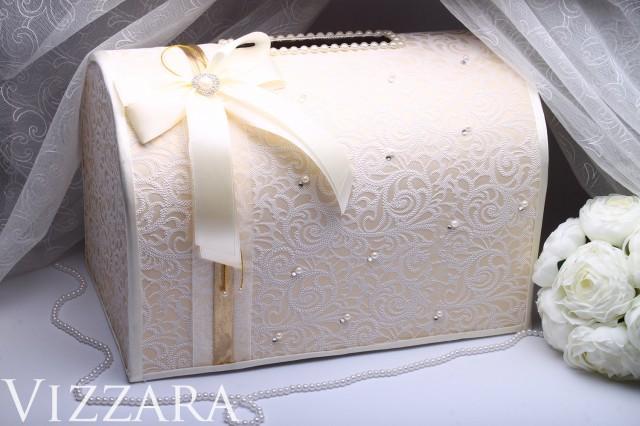 Wedding Money Box Ivory Wedding Card Box Gift Card Holder Wedding ...
