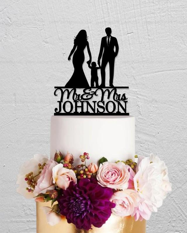 Best Mr And Mrs Questions: Wedding Cake Topper,Bride And Groom Cake Topper,Family